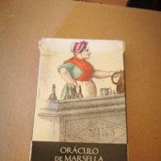 Barajas de cartas: BARAJA DE TAROT ORÁCULO DE MARSELLA. Lote 131615959