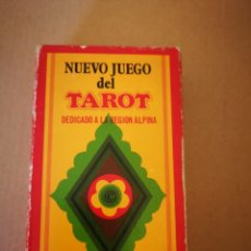 Barajas de cartas: BARAJA DE TAROT NUEVO JUEGO DEL TAROT. Lote 131616577