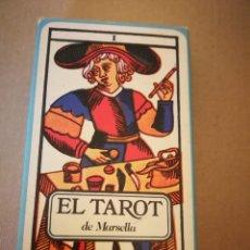 Barajas de cartas: BARAJA DE CARTAS EL TAROT DE MARSELLA. Lote 131617401