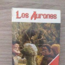 Barajas de cartas: BARAJA DE CARTAS NAIPES LOS AURONES, HERACLIO FOURNIER. Lote 132020390