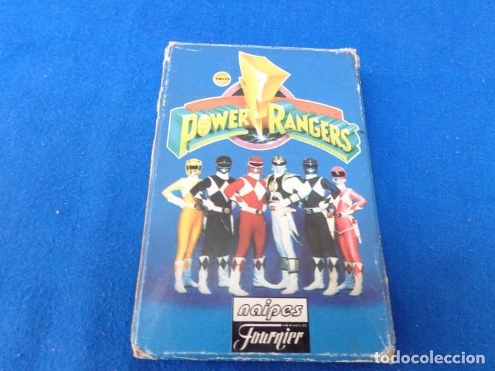POWER RANGERS - BARAJAS NAIPES FOURNIER POWER RANGERS AÑO 1995 VER FOTOS! (Juguetes y Juegos - Cartas y Naipes - Barajas Infantiles)