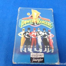 Barajas de cartas: POWER RANGERS - BARAJAS NAIPES FOURNIER POWER RANGERS AÑO 1995 VER FOTOS!. Lote 132038814