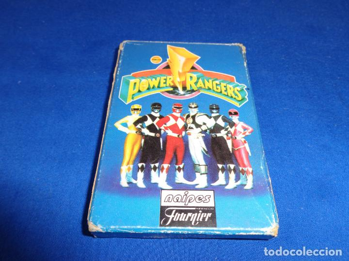 Barajas de cartas: POWER RANGERS - BARAJAS NAIPES FOURNIER POWER RANGERS AÑO 1995 VER FOTOS! - Foto 2 - 132038814