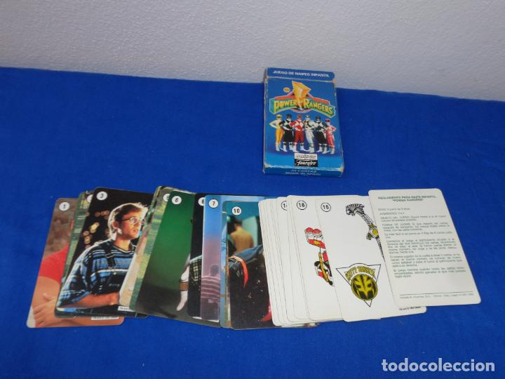 Barajas de cartas: POWER RANGERS - BARAJAS NAIPES FOURNIER POWER RANGERS AÑO 1995 VER FOTOS! - Foto 3 - 132038814