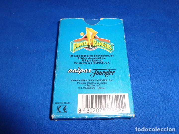 Barajas de cartas: POWER RANGERS - BARAJAS NAIPES FOURNIER POWER RANGERS AÑO 1995 VER FOTOS! - Foto 6 - 132038814