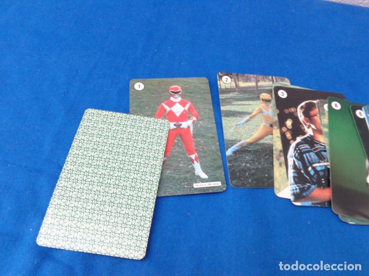 Barajas de cartas: POWER RANGERS - BARAJAS NAIPES FOURNIER POWER RANGERS AÑO 1995 VER FOTOS! - Foto 7 - 132038814
