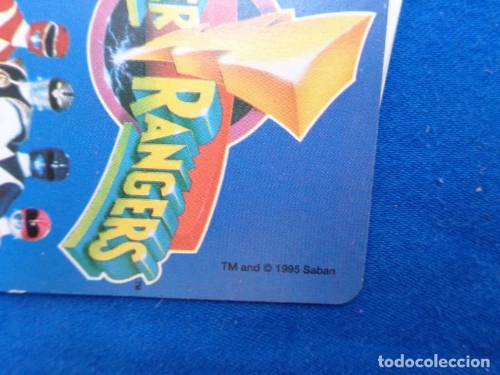 Barajas de cartas: POWER RANGERS - BARAJAS NAIPES FOURNIER POWER RANGERS AÑO 1995 VER FOTOS! - Foto 11 - 132038814
