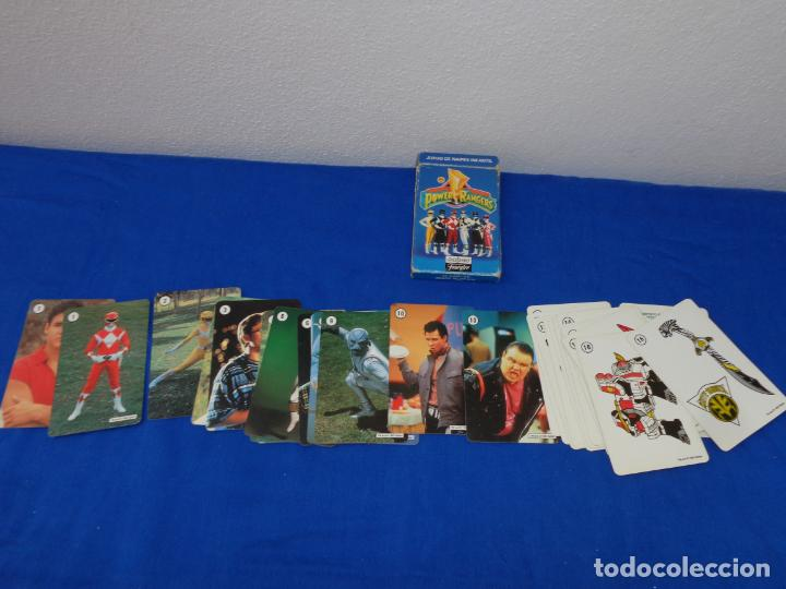 Barajas de cartas: POWER RANGERS - BARAJAS NAIPES FOURNIER POWER RANGERS AÑO 1995 VER FOTOS! - Foto 12 - 132038814