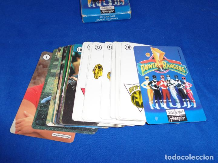 Barajas de cartas: POWER RANGERS - BARAJAS NAIPES FOURNIER POWER RANGERS AÑO 1995 VER FOTOS! - Foto 13 - 132038814
