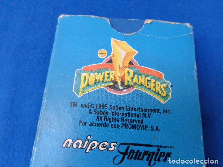 Barajas de cartas: POWER RANGERS - BARAJAS NAIPES FOURNIER POWER RANGERS AÑO 1995 VER FOTOS! - Foto 14 - 132038814