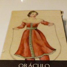 Barajas de cartas: BARAJA ORACOLO ROMÁNTICO. Lote 132068382