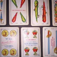 Barajas de cartas: ANTIGUA BARAJA HERACLIO FOURNIER VITORIA IMPUESTO 1,25 PESETAS. Lote 132069138