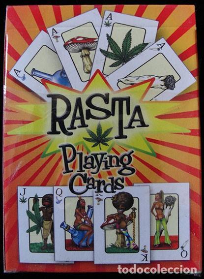 Barajas de cartas: BARAJA DE CARTAS RASTA PLAYING CARDS - COMPLETA 54 CARTAS - - Foto 2 - 132112758