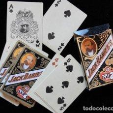 Barajas de cartas: BARAJA DE CARTAS POKER JACK DANIELDS OLD N. 7 - 55 CARTAS -. Lote 132114346