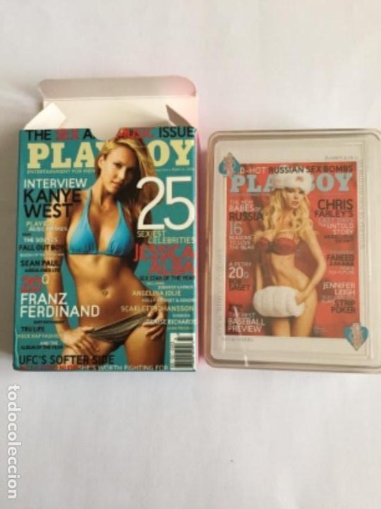 BARAJA PLAYBOY NUEVA CADA CARTA UNA FOTO NAIPES (Juguetes y Juegos - Cartas y Naipes - Barajas de Póker)