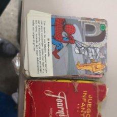 Barajas de cartas: BARAJA DE CARTAS SPIDERMAN SPIDER-MAN . NAIPES HERACLIO FOURNIER. 32 CARTAS. JUEGO INFANTIL. Lote 132382898