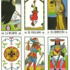 Barajas de cartas: TAROT MARSELLA ESOTERICO - ARCANOS MENORES Y MAYORES. Lote 164575218