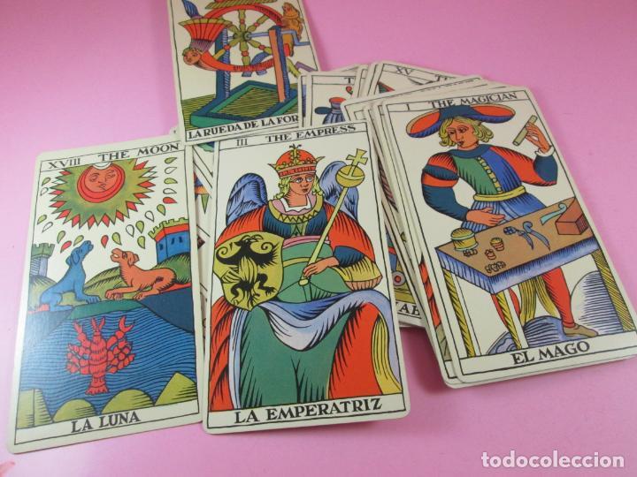 BARAJA/CARTAS-TAROT MARSELLÉS-NUEVO-22 CARTAS-SIN CAJA-DIFERENTE-EXCELENTE ESTADO-VER FOTOS (Juguetes y Juegos - Cartas y Naipes - Barajas Tarot)