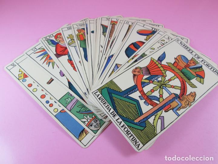 Barajas de cartas: Baraja/cartas-tarot marsellés-nuevo-22 cartas-sin caja-diferente-excelente estado-ver fotos - Foto 2 - 132508334