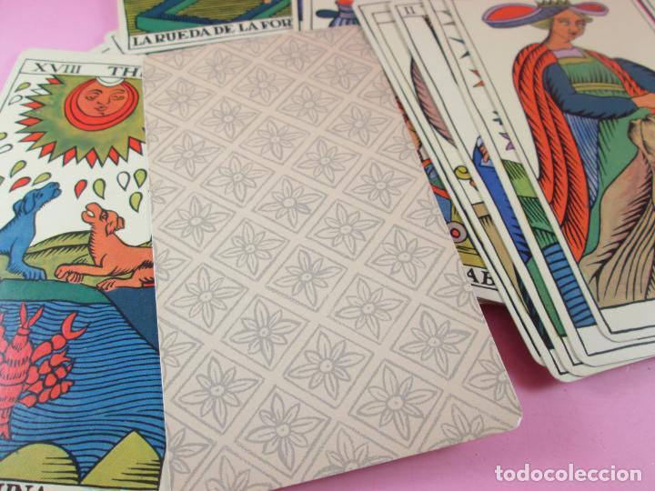 Barajas de cartas: Baraja/cartas-tarot marsellés-nuevo-22 cartas-sin caja-diferente-excelente estado-ver fotos - Foto 4 - 132508334