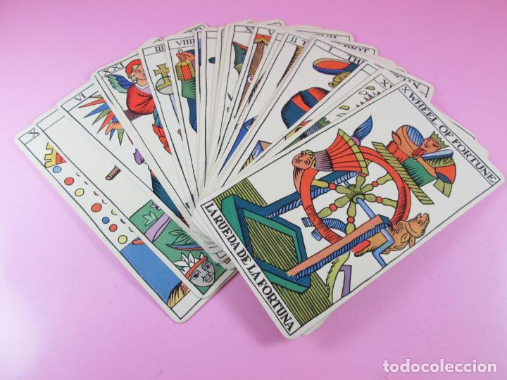 Barajas de cartas: Baraja/cartas-tarot marsellés-nuevo-22 cartas-sin caja-diferente-excelente estado-ver fotos - Foto 5 - 132508334