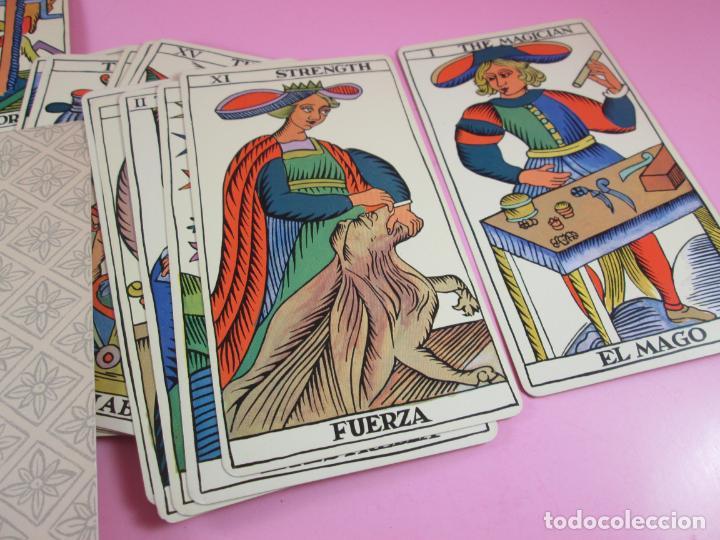 Barajas de cartas: Baraja/cartas-tarot marsellés-nuevo-22 cartas-sin caja-diferente-excelente estado-ver fotos - Foto 6 - 132508334