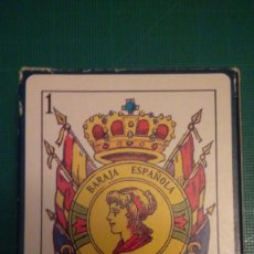 Barajas de cartas: MNE BARAJA ESPAÑOLA UNIVERSAL 50 CARTAS MODELO 003 BANDERA REPUBLICANA. Lote 132555126