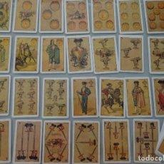 Barajas de cartas: BARAJA DE CARTAS ESPAÑOLA. NUEVA BARAJA TAURINA. GANADERÍAS TOREROS ANTIGUOS. 120GR. Lote 132567486