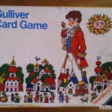 Jeux de cartes: GULLIVER CARD GAME OTTO MAIER VERLAG RAVENSBURG 1971 - FOTOS ADICIONALES. Lote 132696710