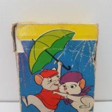 Barajas de cartas: BARAJA DE CARTAS INFANTIL LOS RESCATADORES - FOURNIER - AÑO 1977. Lote 132724998