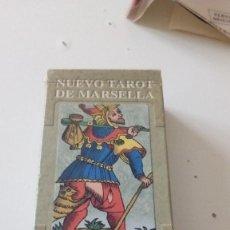 Barajas de cartas: CD-6489 CARTAS DEL NUEVO TAROT DE MARSELLA TIENE 75 CARTAS FALTARIA 3 . Lote 143239438