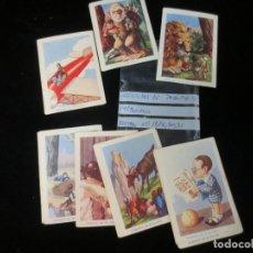 Barajas de cartas: AVENTURAS DE PAQUITO Y CARBONILLA FALTAS NUMEROS. Lote 132751242