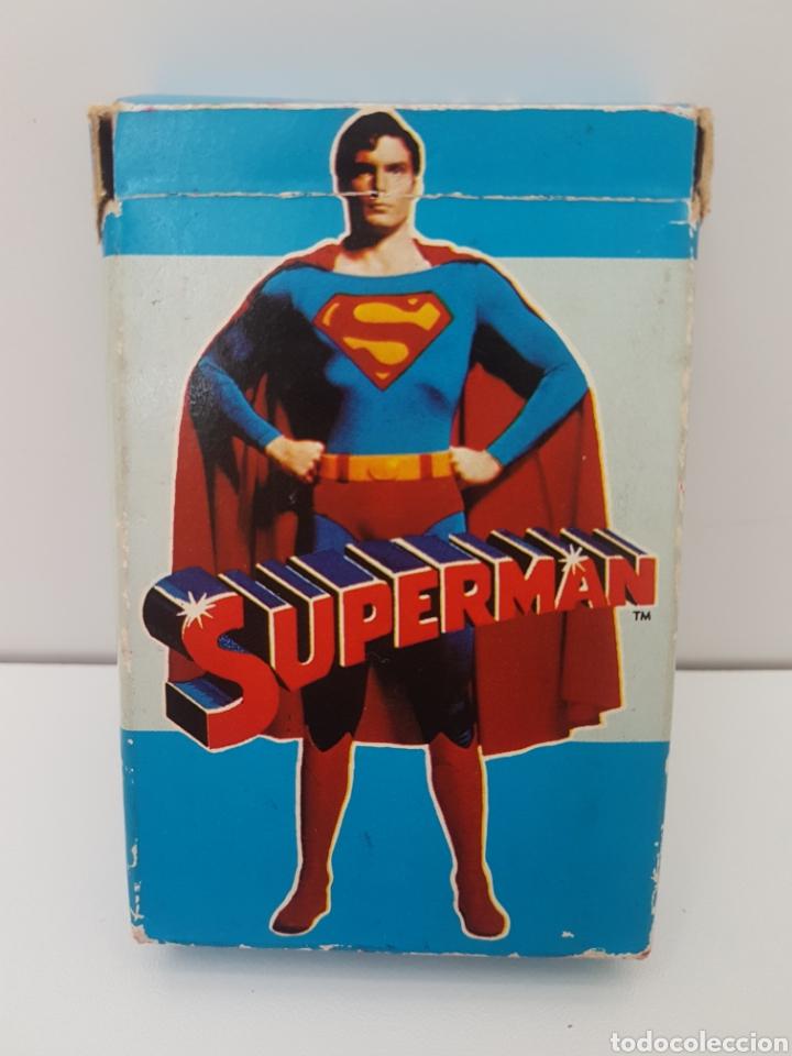 BARAJA CARTAS SUPERMAN - FOURNIER - AÑO 1979 (Juguetes y Juegos - Cartas y Naipes - Barajas Infantiles)