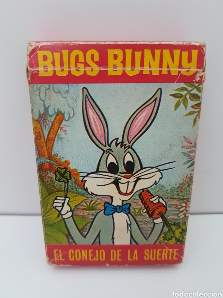 BARAJA DE CARTAS INFANTIL BUGS BUNNY - EL CONEJO DE LA SUERTE - AÑO 1970 (Juguetes y Juegos - Cartas y Naipes - Barajas Infantiles)