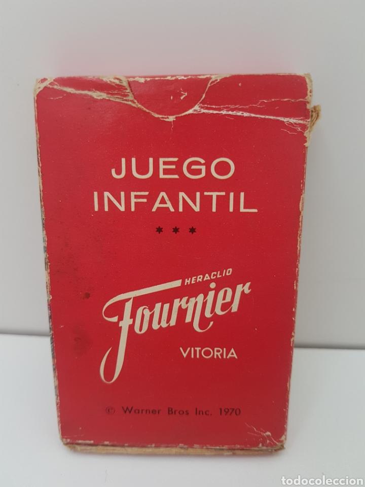 Barajas de cartas: Baraja de cartas infantil BUGS BUNNY - EL CONEJO DE LA SUERTE - Año 1970 - Foto 2 - 132787682