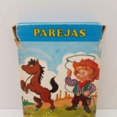 Barajas de cartas: BARAJA DE CARTAS PAREJAS DEL MUNDO - FOURNIER - AÑOS 70. Lote 132790487