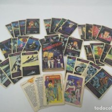 Baralhos de cartas: ROBOTECH. BARAJA DE CARTAS NAIPES CROMY 1985. UNICA. Lote 132828654