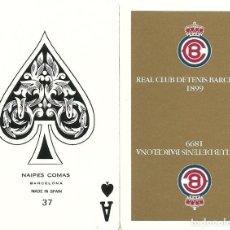 Barajas de cartas: REAL CLUB DE TENIS BARCELONA - BARAJA DE BRIDGE. Lote 132863446