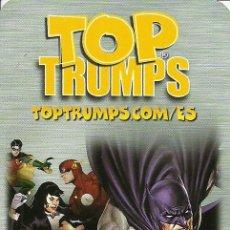 Barajas de cartas: BARAJA INFANTIL TOP TRUMPS SUPER HEROES - NUEVA. Lote 132872638