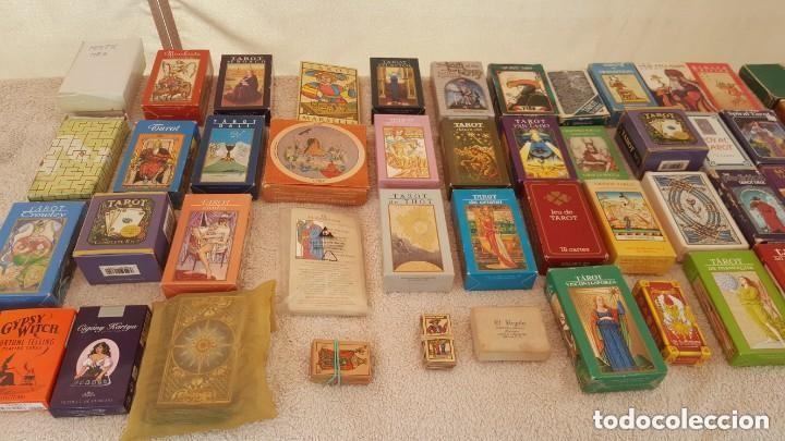 COLECCION DE 60 CARTAS TAROT, ORACULOS, CARTAS ADIVINATORIAS, JUEGOS DE CARTAS, LIBROS (Juguetes y Juegos - Cartas y Naipes - Barajas Tarot)