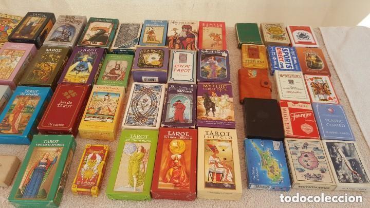 Barajas de cartas: COLECCION DE 60 CARTAS TAROT, ORACULOS, CARTAS ADIVINATORIAS, JUEGOS DE CARTAS, LIBROS - Foto 2 - 132897130