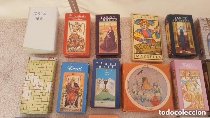 Barajas de cartas: COLECCION DE 60 CARTAS TAROT, ORACULOS, CARTAS ADIVINATORIAS, JUEGOS DE CARTAS, LIBROS - Foto 3 - 132897130