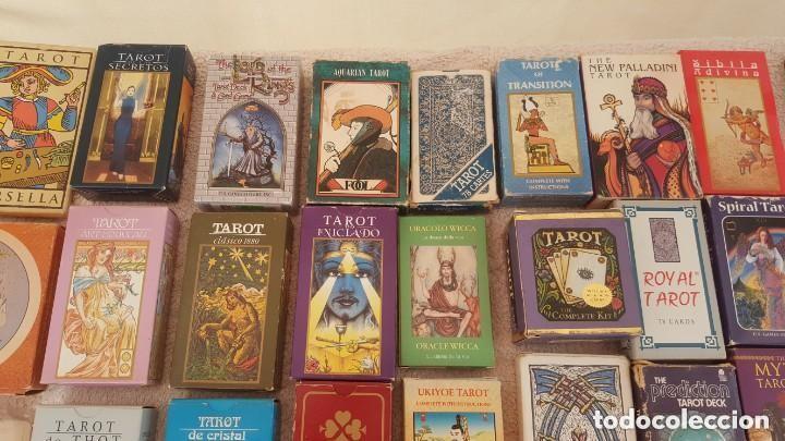 Barajas de cartas: COLECCION DE 60 CARTAS TAROT, ORACULOS, CARTAS ADIVINATORIAS, JUEGOS DE CARTAS, LIBROS - Foto 4 - 132897130