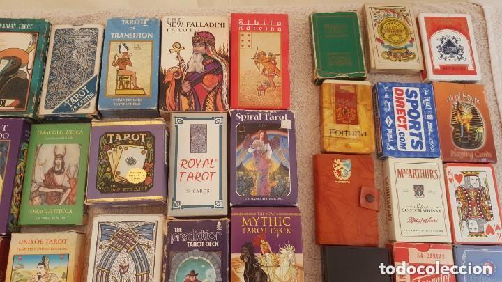 Barajas de cartas: COLECCION DE 60 CARTAS TAROT, ORACULOS, CARTAS ADIVINATORIAS, JUEGOS DE CARTAS, LIBROS - Foto 5 - 132897130