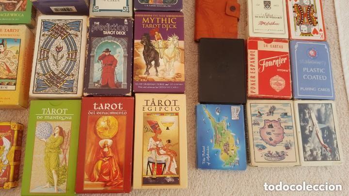 Barajas de cartas: COLECCION DE 60 CARTAS TAROT, ORACULOS, CARTAS ADIVINATORIAS, JUEGOS DE CARTAS, LIBROS - Foto 6 - 132897130