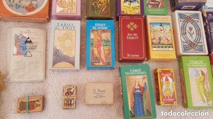 Barajas de cartas: COLECCION DE 60 CARTAS TAROT, ORACULOS, CARTAS ADIVINATORIAS, JUEGOS DE CARTAS, LIBROS - Foto 7 - 132897130