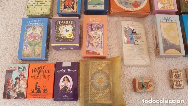 Barajas de cartas: COLECCION DE 60 CARTAS TAROT, ORACULOS, CARTAS ADIVINATORIAS, JUEGOS DE CARTAS, LIBROS - Foto 8 - 132897130