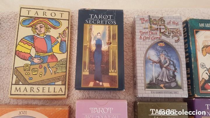 Barajas de cartas: COLECCION DE 60 CARTAS TAROT, ORACULOS, CARTAS ADIVINATORIAS, JUEGOS DE CARTAS, LIBROS - Foto 10 - 132897130