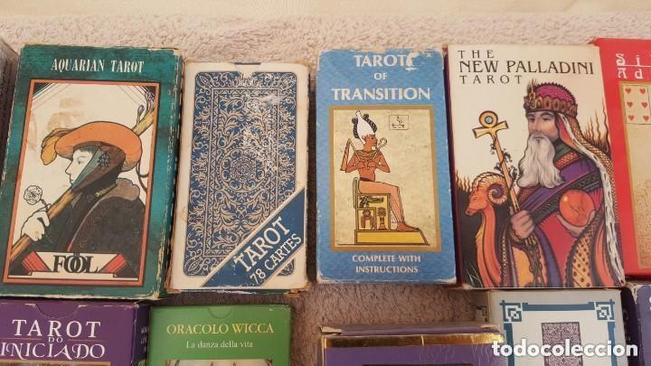 Barajas de cartas: COLECCION DE 60 CARTAS TAROT, ORACULOS, CARTAS ADIVINATORIAS, JUEGOS DE CARTAS, LIBROS - Foto 11 - 132897130
