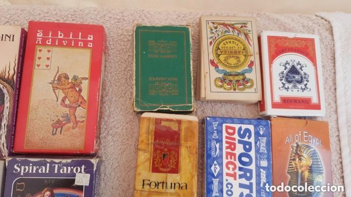 Barajas de cartas: COLECCION DE 60 CARTAS TAROT, ORACULOS, CARTAS ADIVINATORIAS, JUEGOS DE CARTAS, LIBROS - Foto 12 - 132897130